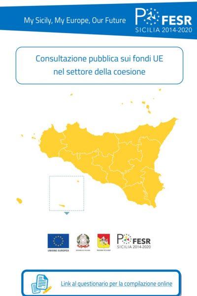 Consultazione Pubblica Politiche di coesione
