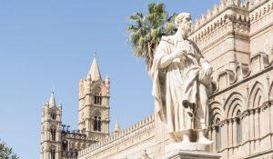 """Attrazioni turistiche - Cattedrale di Palermo - Azione 3.3.2 """"Supporto allo sviluppo di prodotti e servizi complementari alla valorizzazione di identificati attrattori culturali e naturali"""" (foto Luca Savettiere)"""