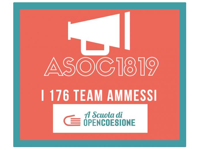 A Scuola di OpenCoesione (ASOC): ventisei le scuole siciliane ammesse per l'edizione 2018-2019
