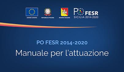 PO FESR Sicilia 2014-2020, approvato il nuovo Manuale per l'attuazione del Programma Operativo - 405