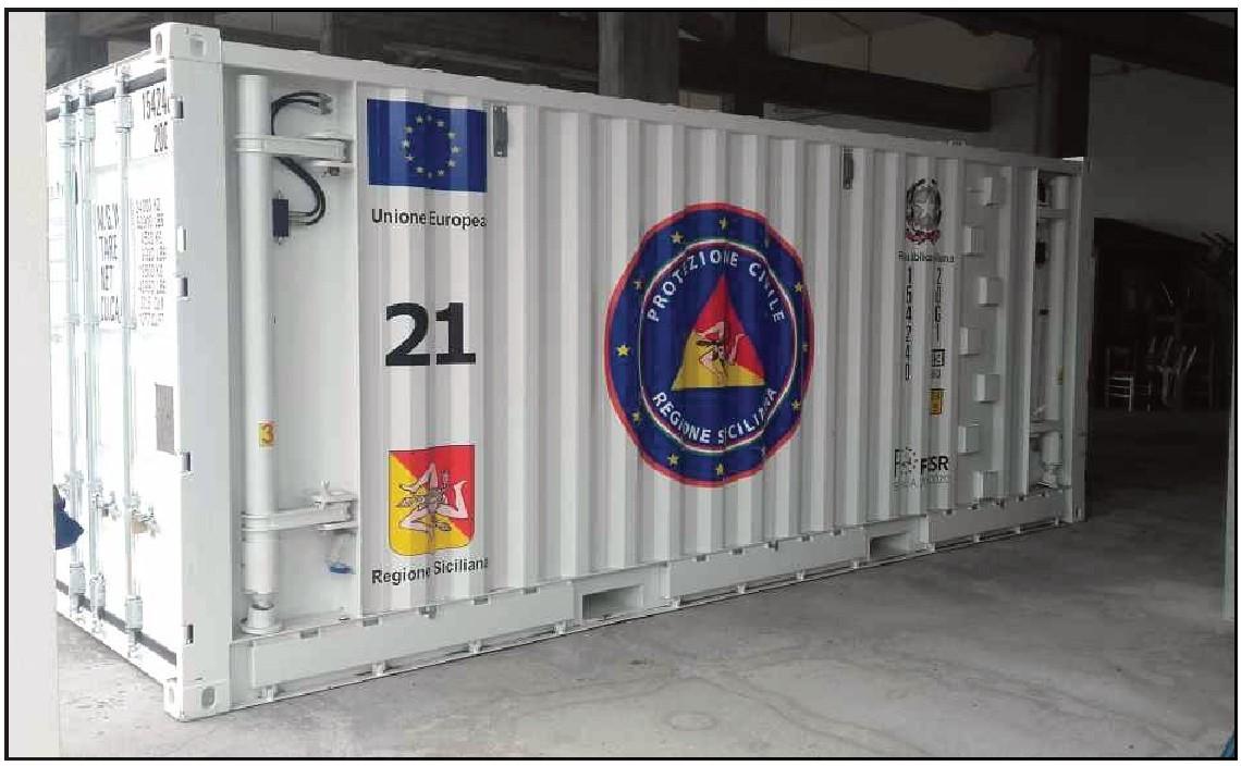 Container n. 21 Nicolosi (Catania)