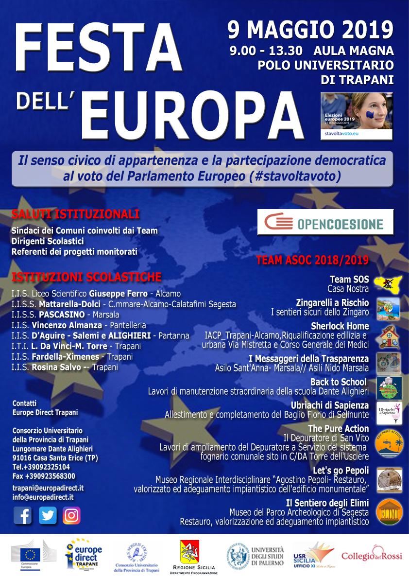 Festa dell'Europa 2019 Trapani