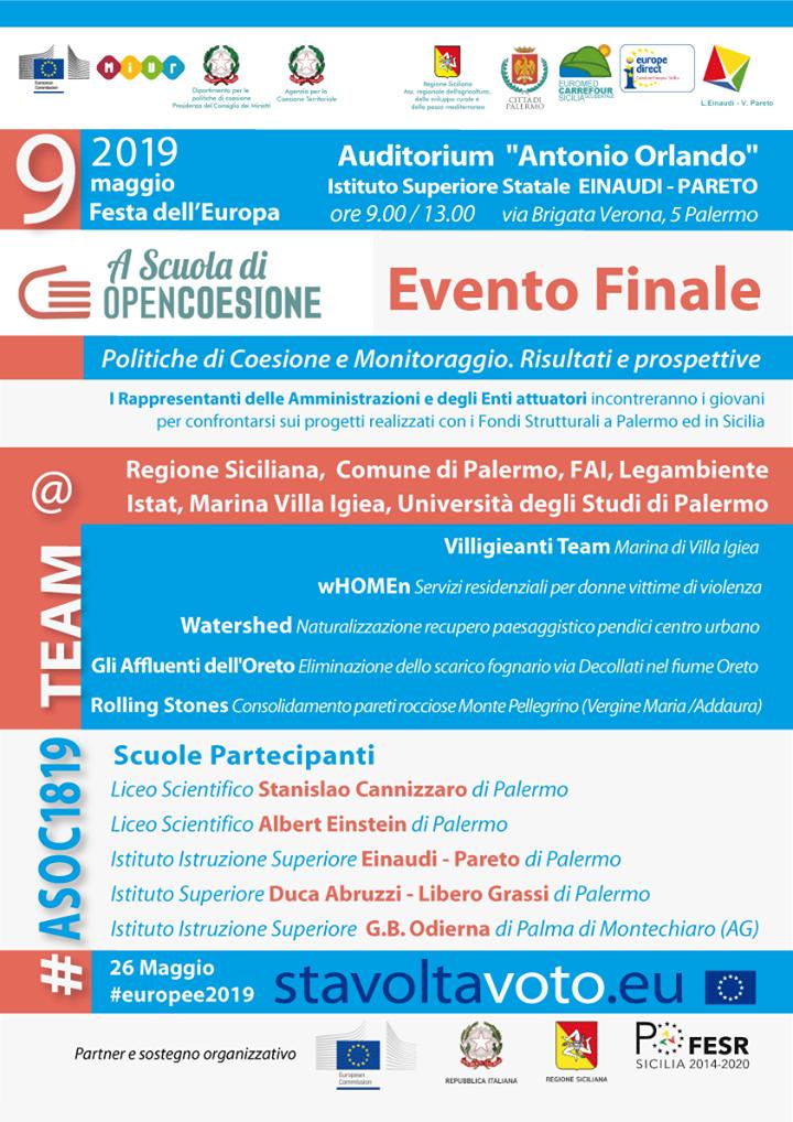 Locandina Evento finale ASOC 2018-2019