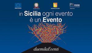 """Campagna di comunicazione """"Sicilia DuemilaEventi"""" sulla stampa quotidiana fino all'8 dicembre - 420 px"""