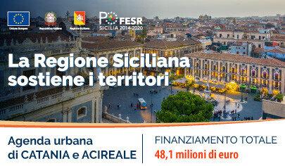 Catania: Fondi Ue, dalla Regione 48 milioni di euro per l'Agenda urbana - 405 px