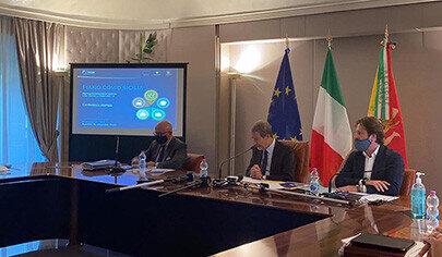 Piano Covid Sicilia conf stampa 405