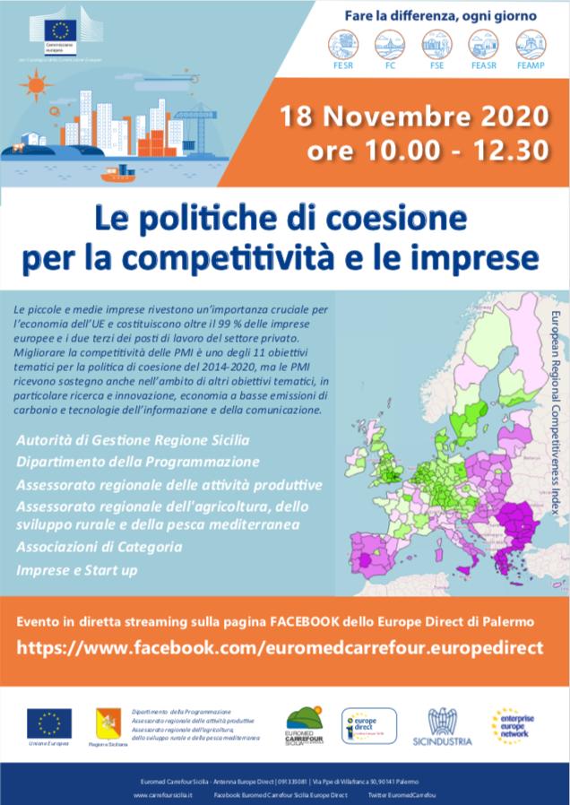 Le politiche di coesione per la competitività e le imprese