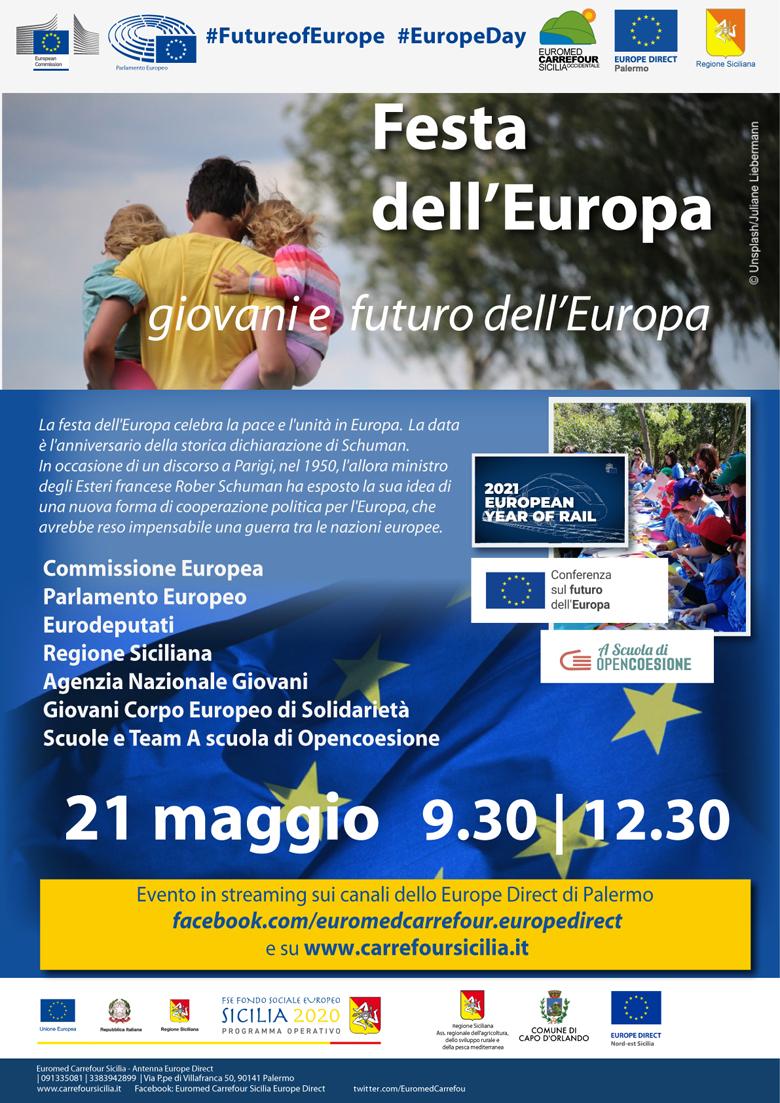 Festa Europa 21 maggio 2021